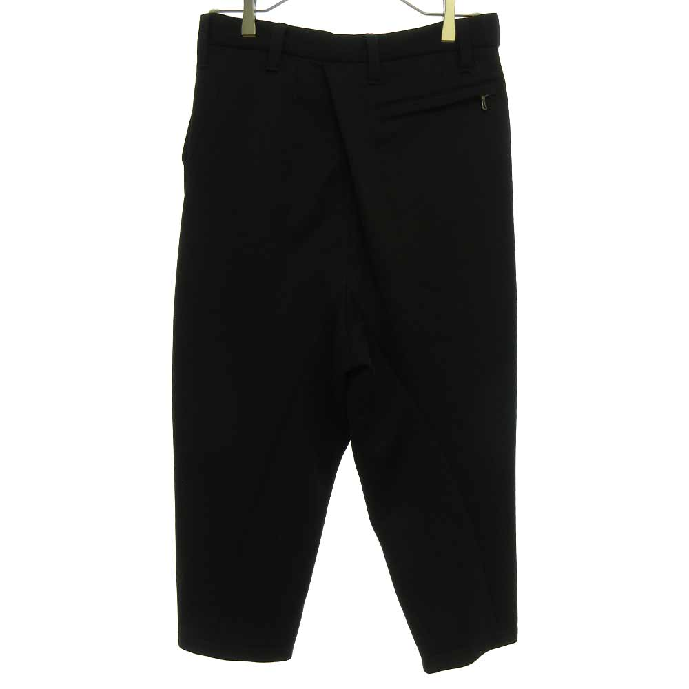 CROPPED FRONT SLIT TROUSERS クロップドフロントスリットボンティングパンツ
