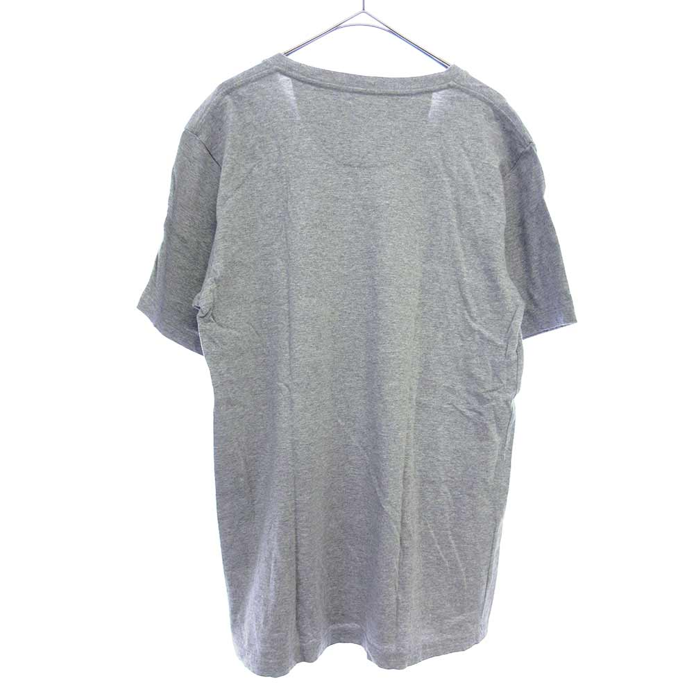 フロントプリントクルーネック半袖Tシャツ