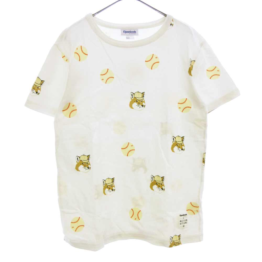 ×Reebok リーボック ベースボールプリントTシャツ