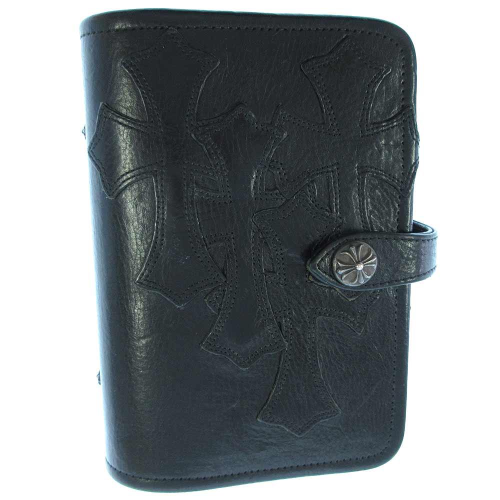 AGENDA FRNT4CEMECROSS セメタリークロスパッチクロスボールボタン手帳カバー