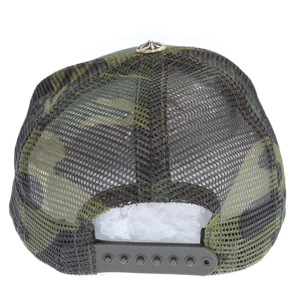 TRUCKER CAP トラッカーキャップ CHパッチクロスボール付メッシュキャップ
