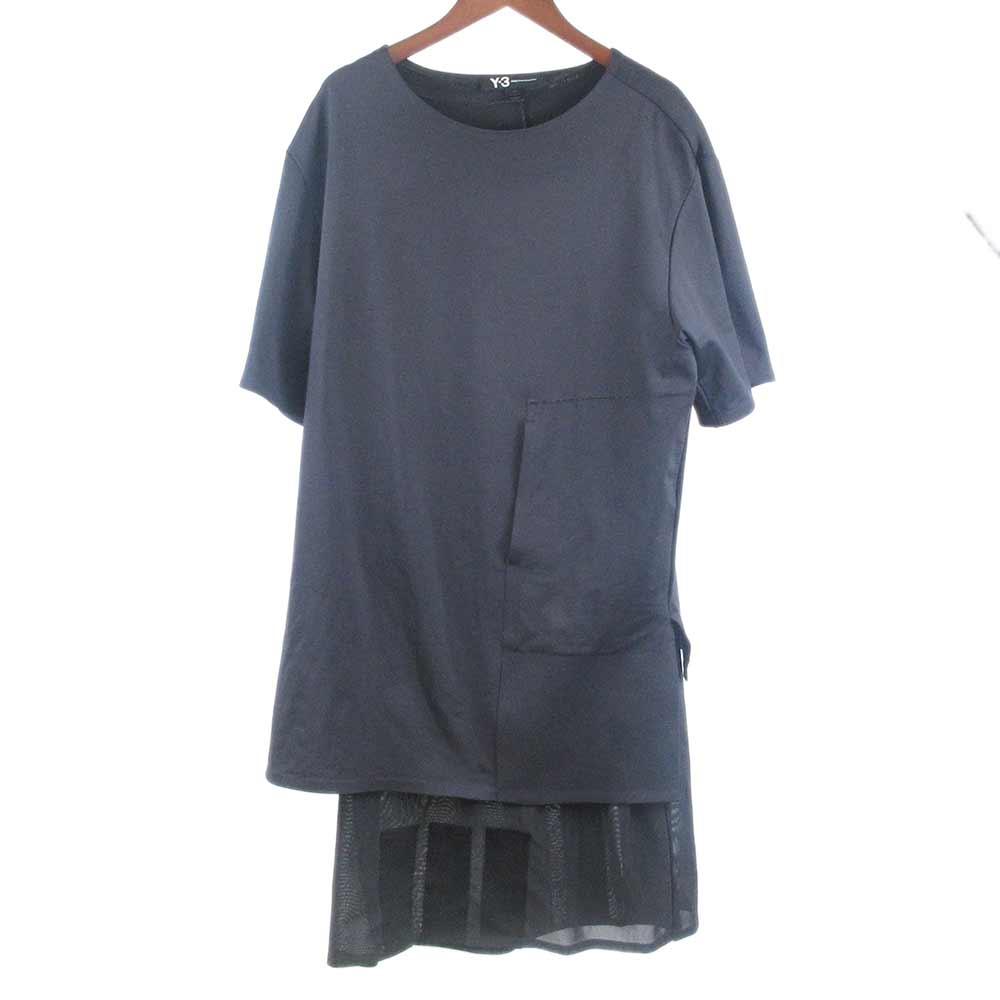 レイヤードオーバーサイズ半袖Tシャツ B47567