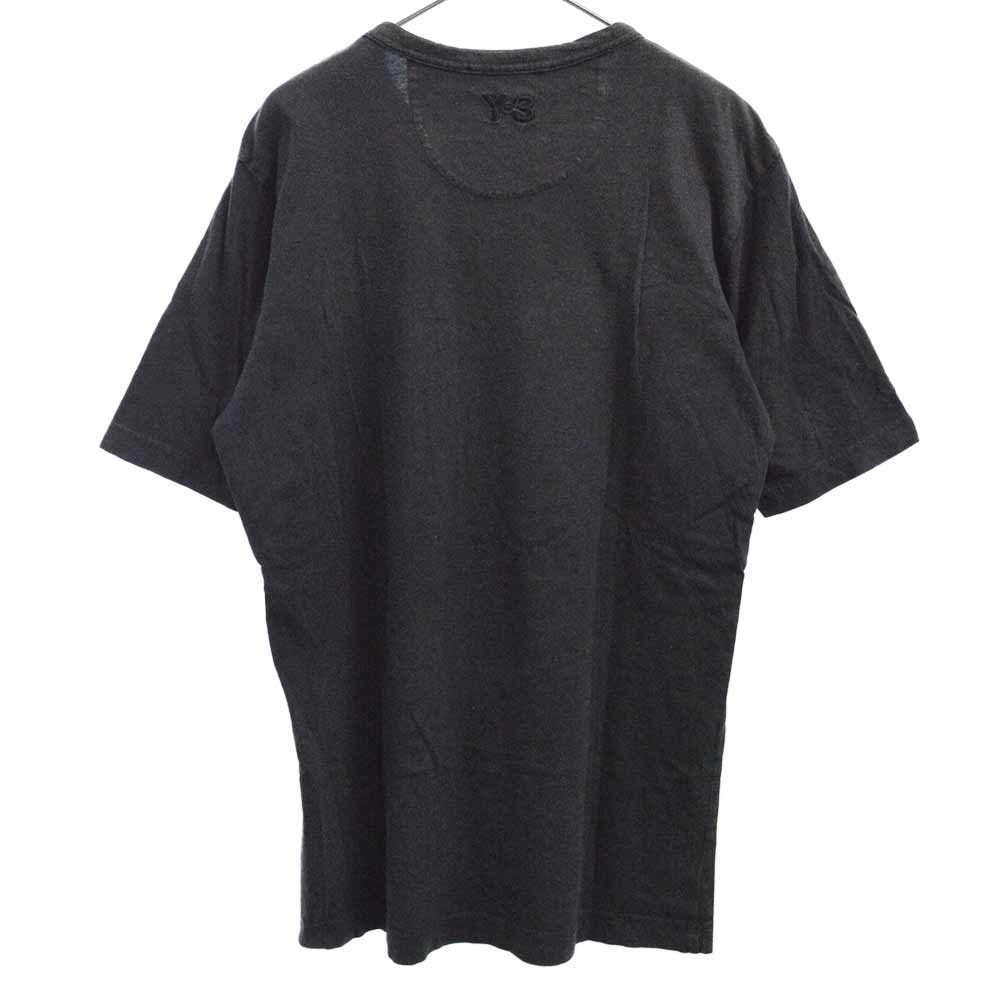 フロントALOHAプリントクルーネック半袖Tシャツ