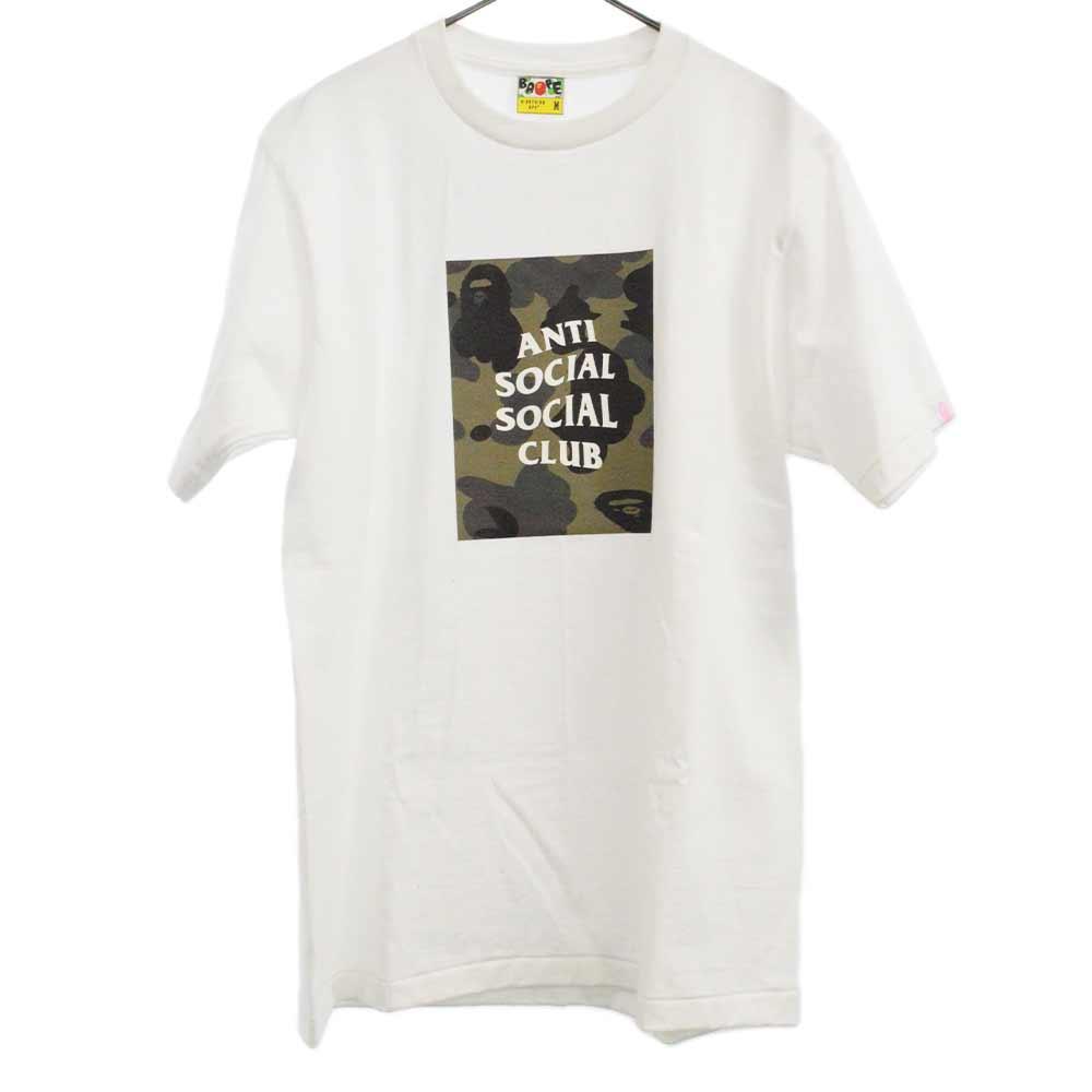 ×ANTI SOCIAL SOCIAL CLUB アンチソーシャルソーシャルクラブ スクエアプリントクルーネック半袖Tシャツ