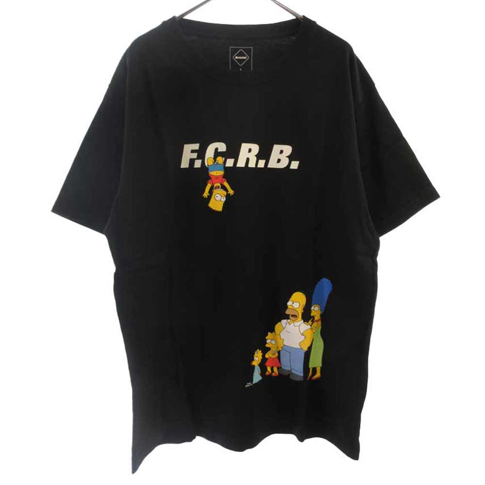 × THE SIMPSONS シンプソンズ ファミリープリント 半袖Tシャツ