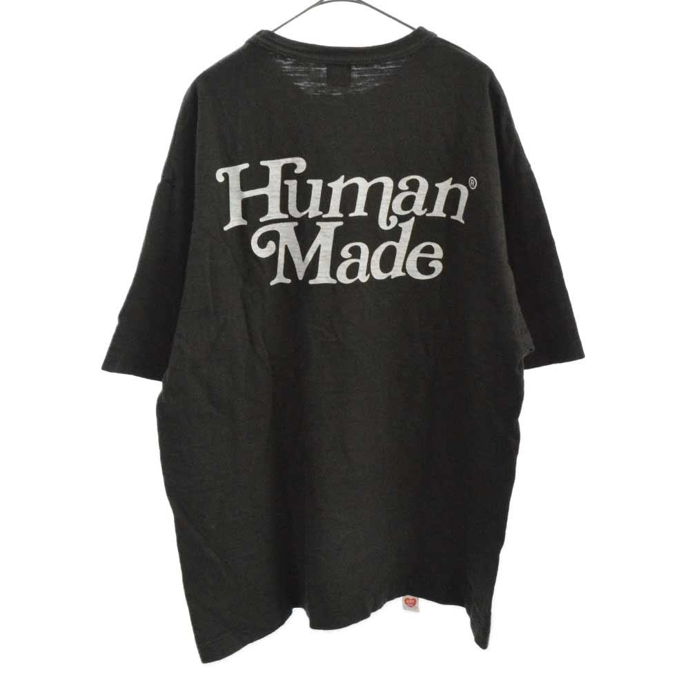 × Girls Don't Cry ガールズドントクライ ロゴプリント半袖Tシャツ