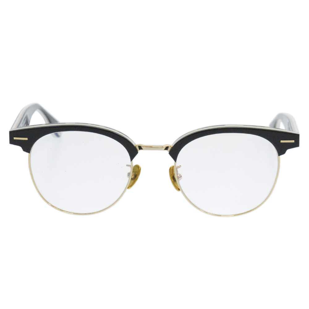 BA13003 サイドロゴサルカモ柄メガネ アイウェア