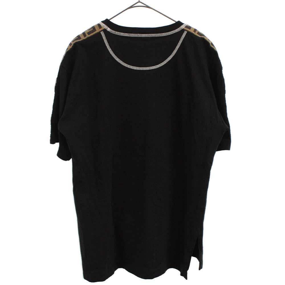 ズッカサイドライン クルーネック半袖Tシャツ
