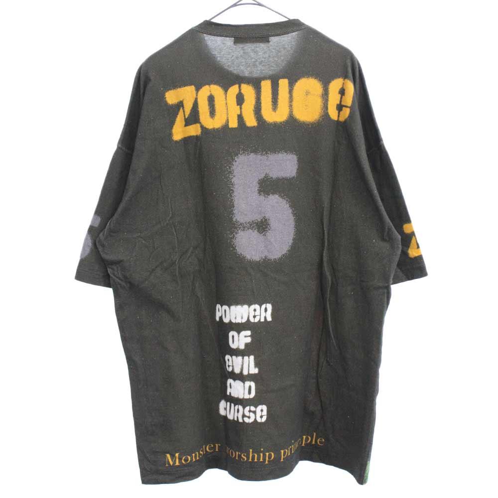 ZORUGE PARIS TEE パリプリント ビッグシルエットデザイン 半袖Tシャツ