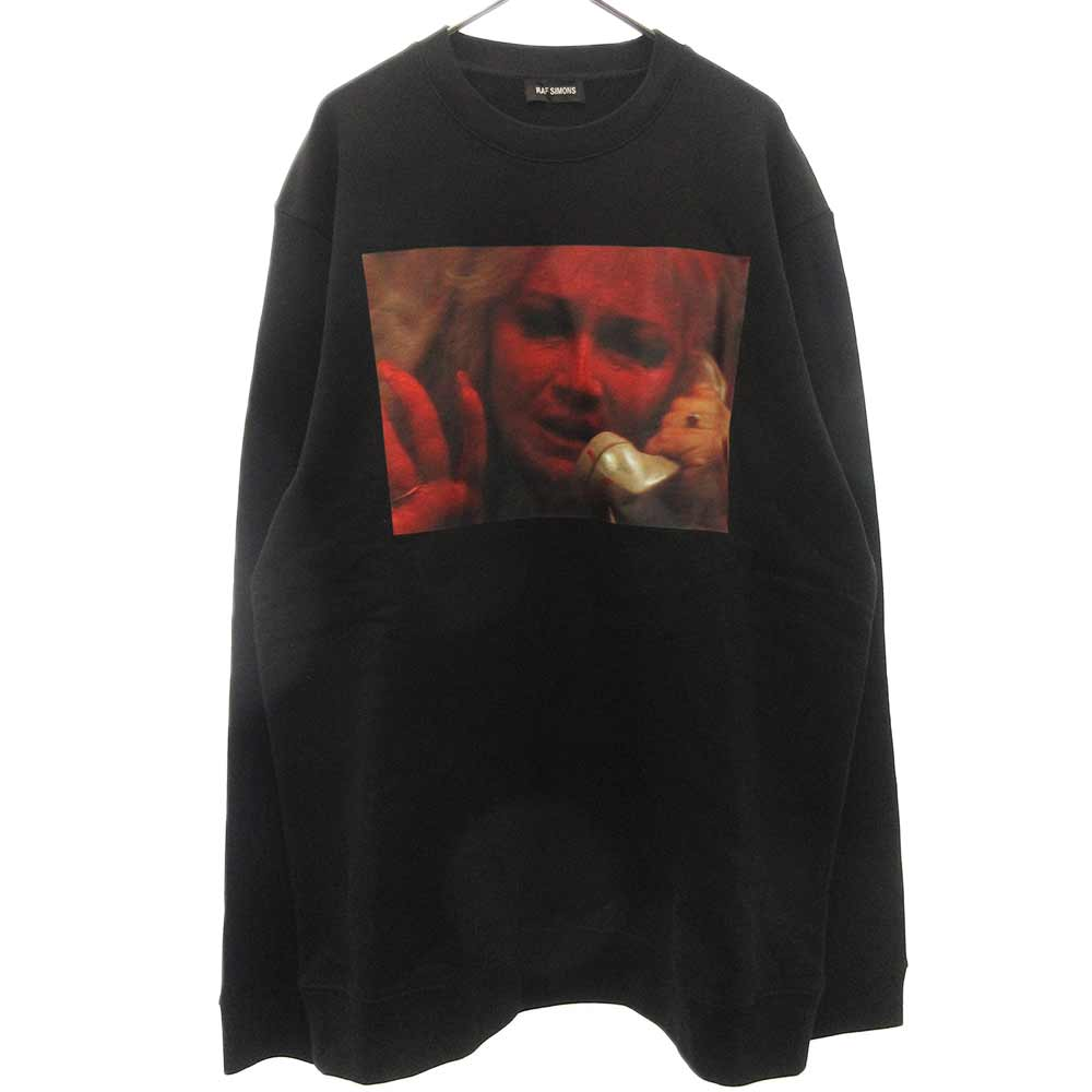 MOTHER ON PHONE GRAPHIC CREWNECK SWEATER