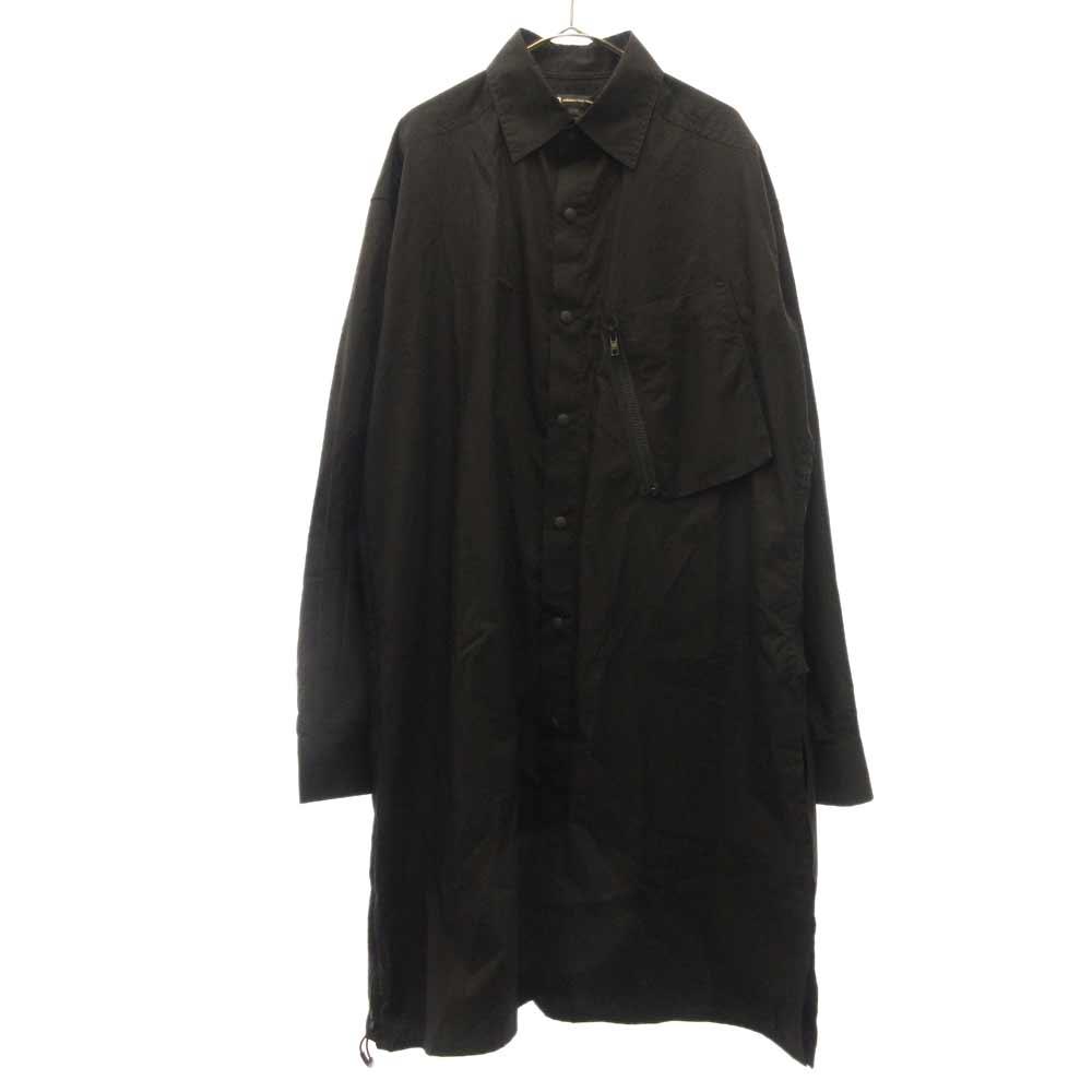 Tech Long Shirt テックロング ナイロンシャツ ジャケット コート