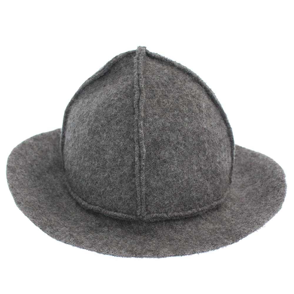 ツイード4パネルハット 帽子