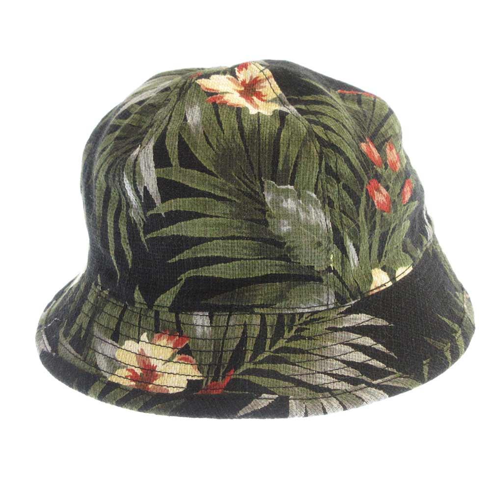 ALOHA/CL-HAT アロハボタニカル柄バケットハット 帽子