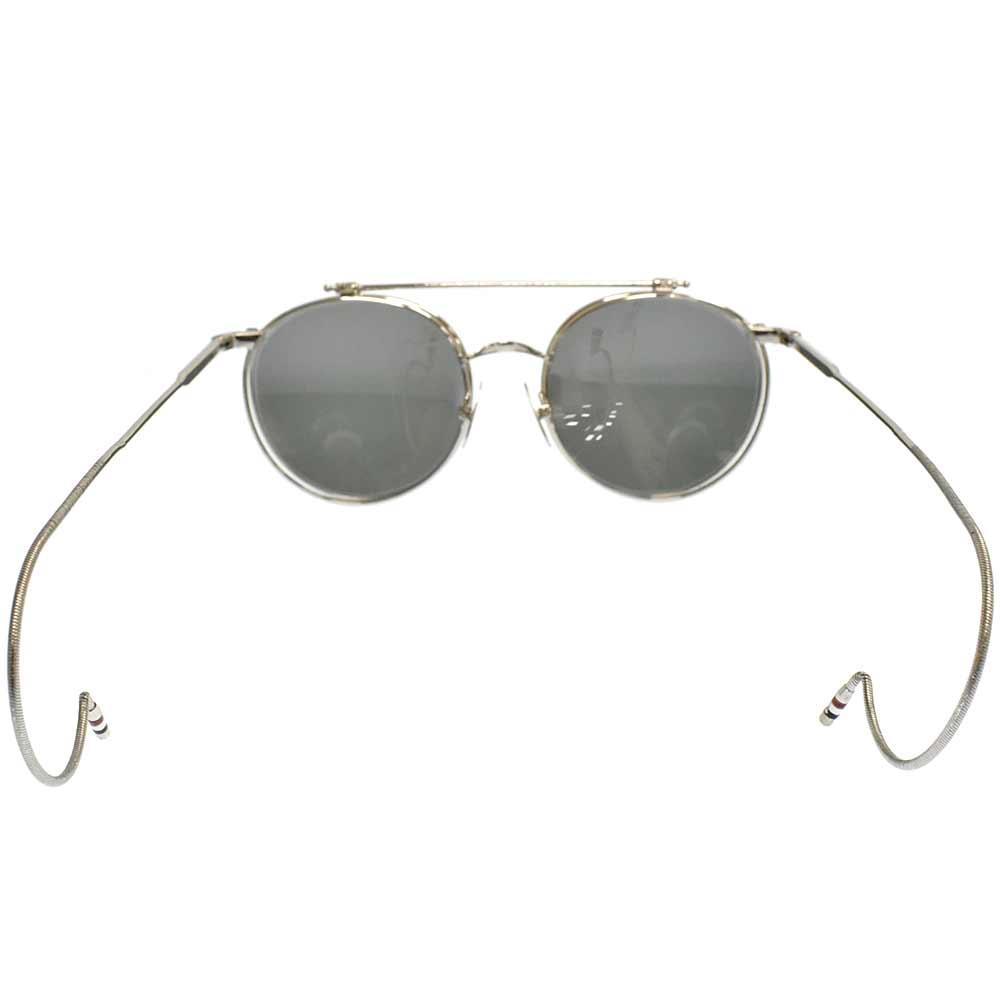 TB-001A-T-51 Flip up Sunglassesクリップオンラウンドサングラスメガネ