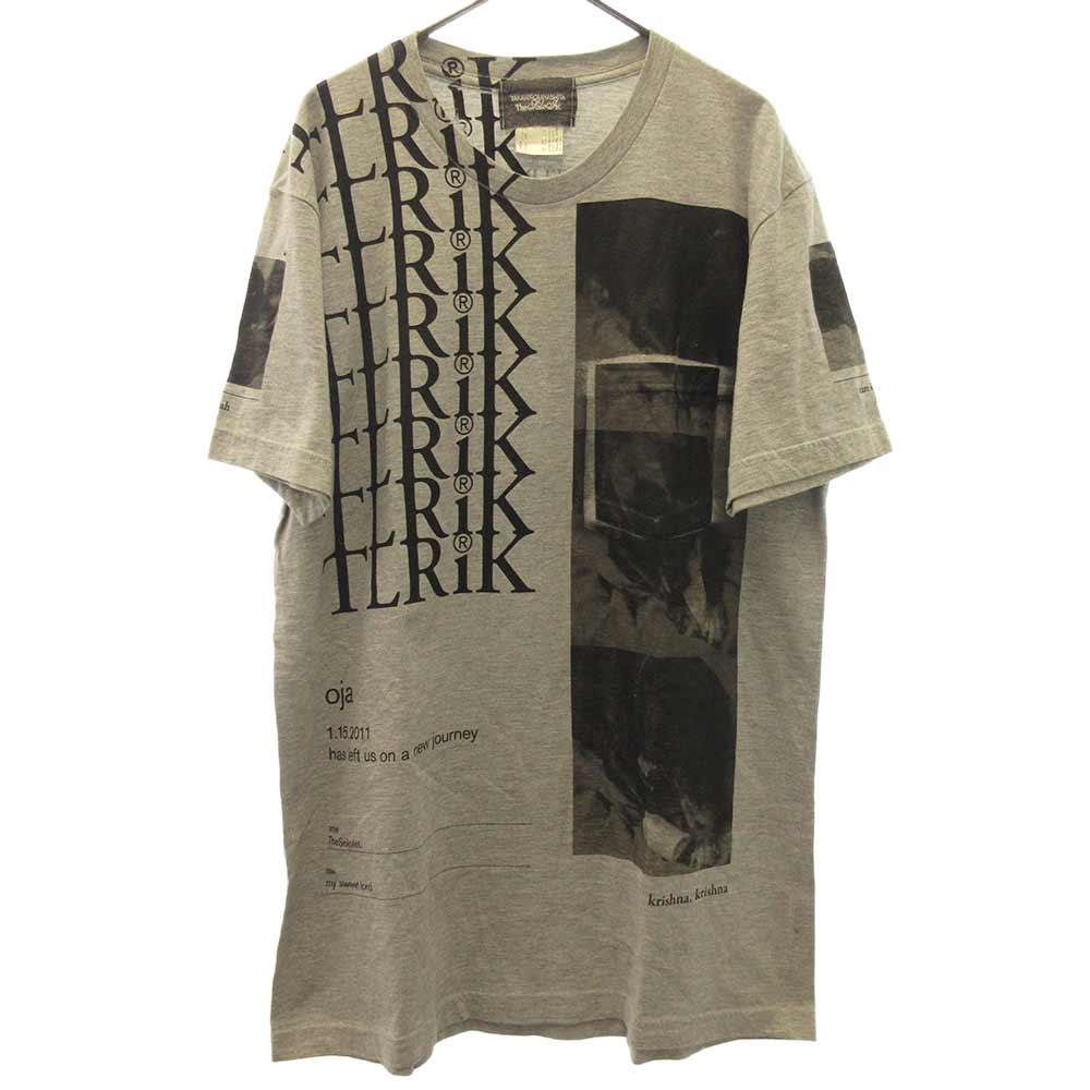 TERIK プリント半袖Tシャツ