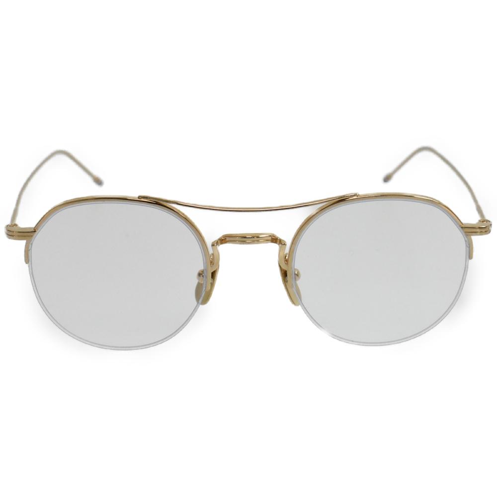 ゴールドフレーム 眼鏡 アイウェア
