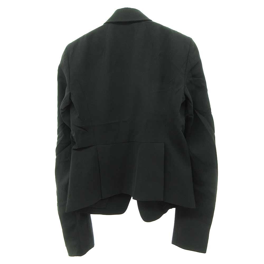 ウールビスコース混 ショート1Bテーラードジャケット