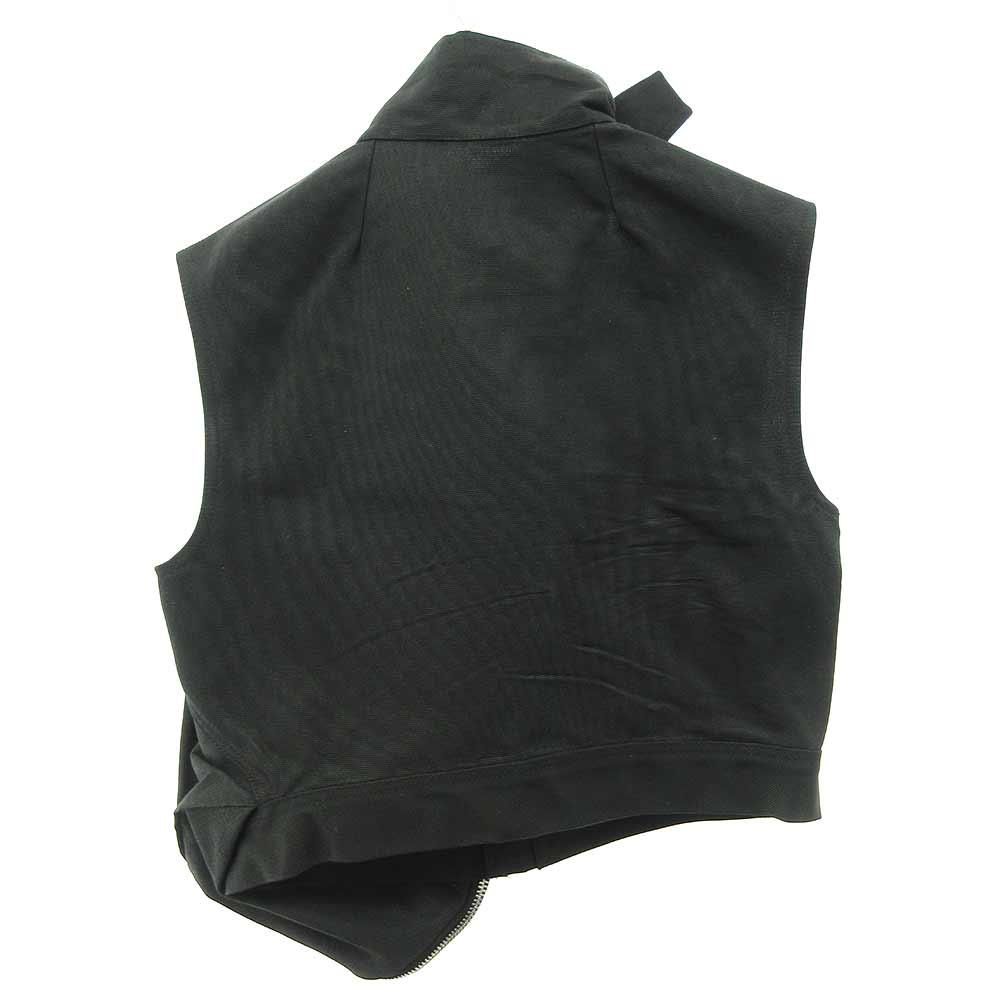 Black Cropped Cargo Jacket クロップドカーゴジャケット ベスト