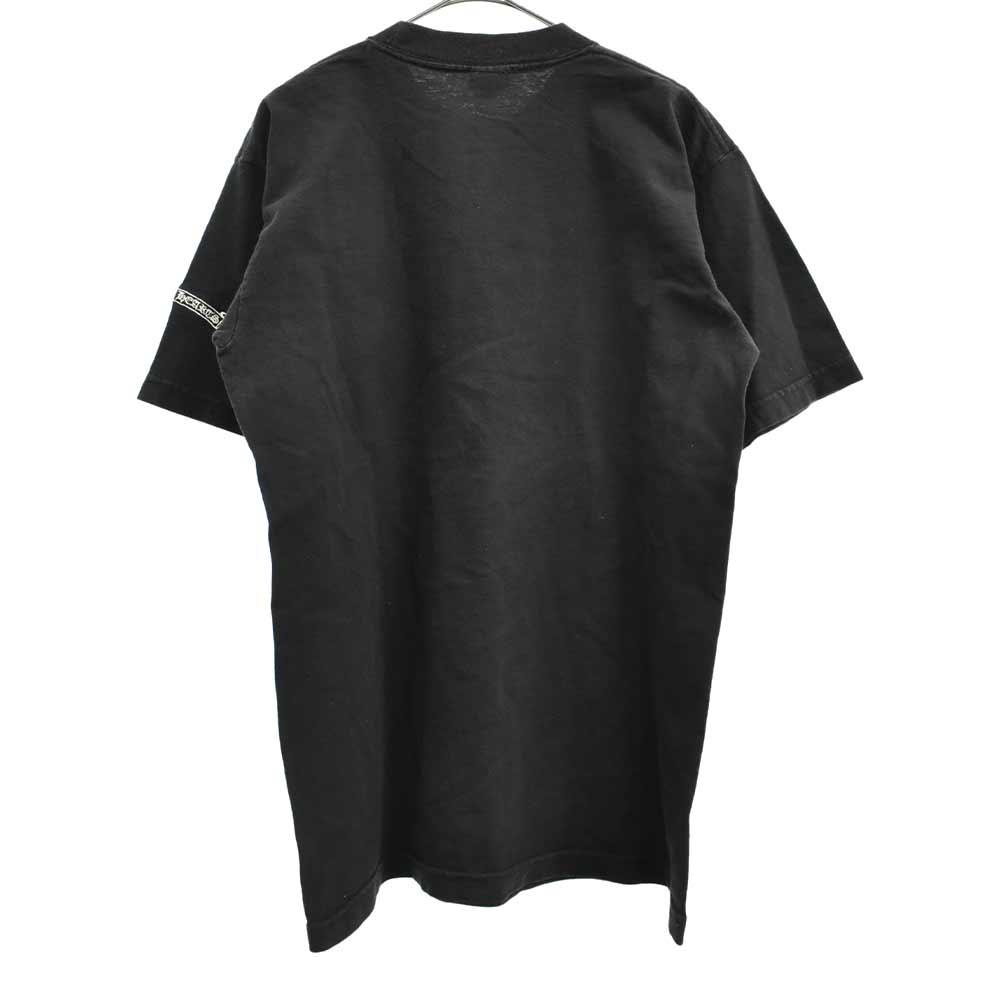 胸セメタリークロス 刺繍 Tシャツ