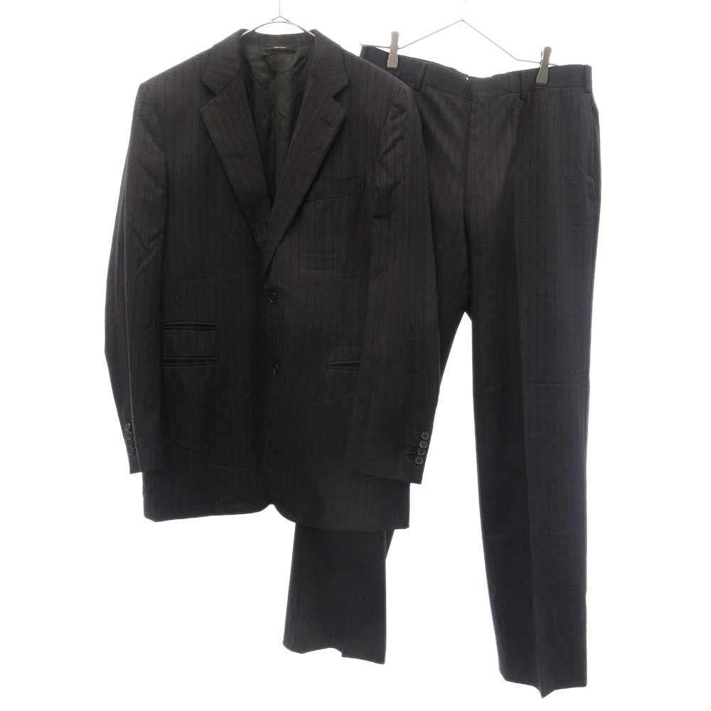 シャドーストライプクラシックテーラードセットアップスーツ ジャケット