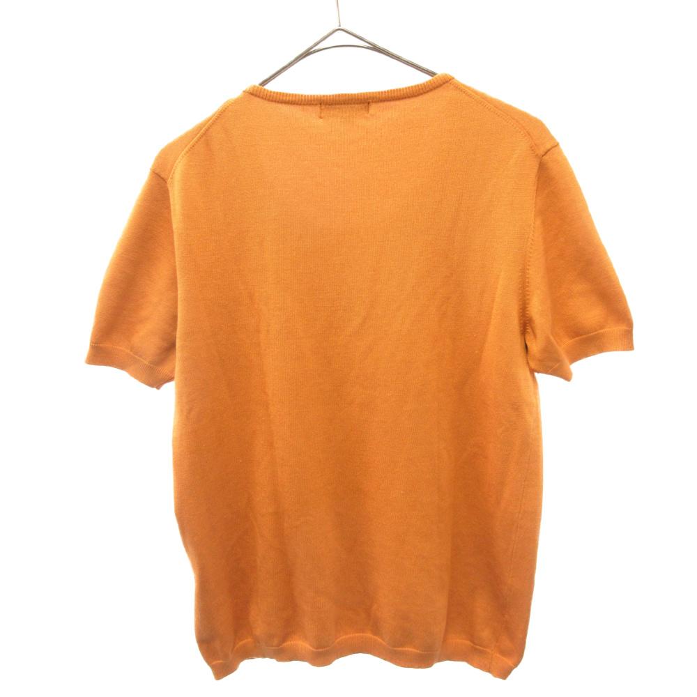 クルーネックニットセーター
