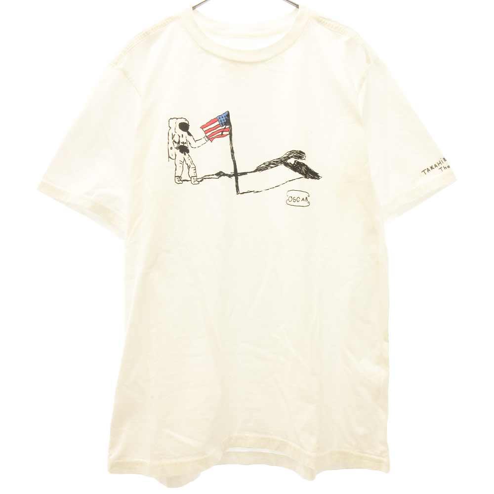 アストロ宇宙プリント半袖Tシャツ
