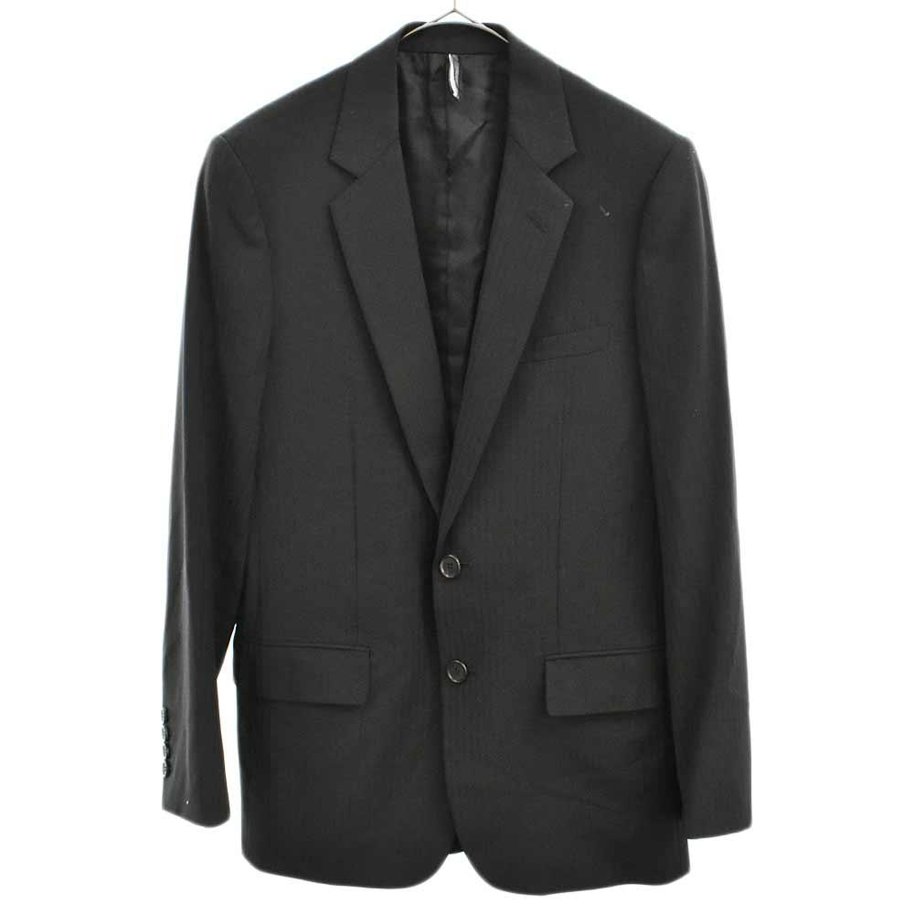 ストライプセットアップスーツ 2Bテーラードジャケット スラックスパンツ