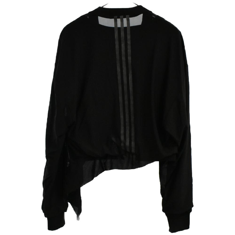 Layered Mesh Cropped Tee クロップド メッシュ レイヤード Tシャツ