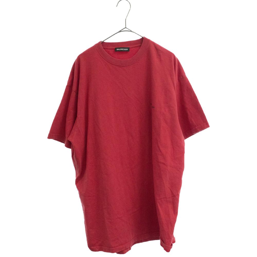 ロゴプリントオーバーサイズ半袖Tシャツ