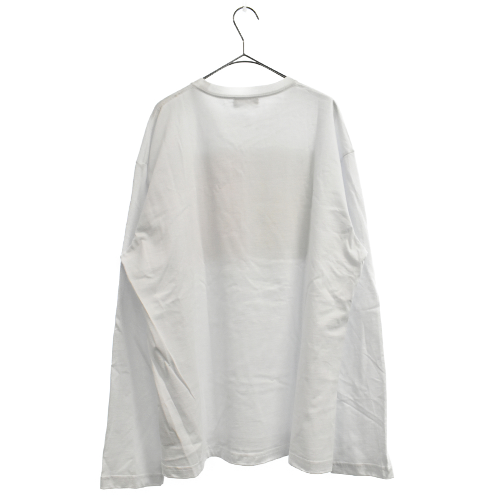 Long-sleeve Cotton Jersey T-shirt GHBプリント長袖Tシャツ