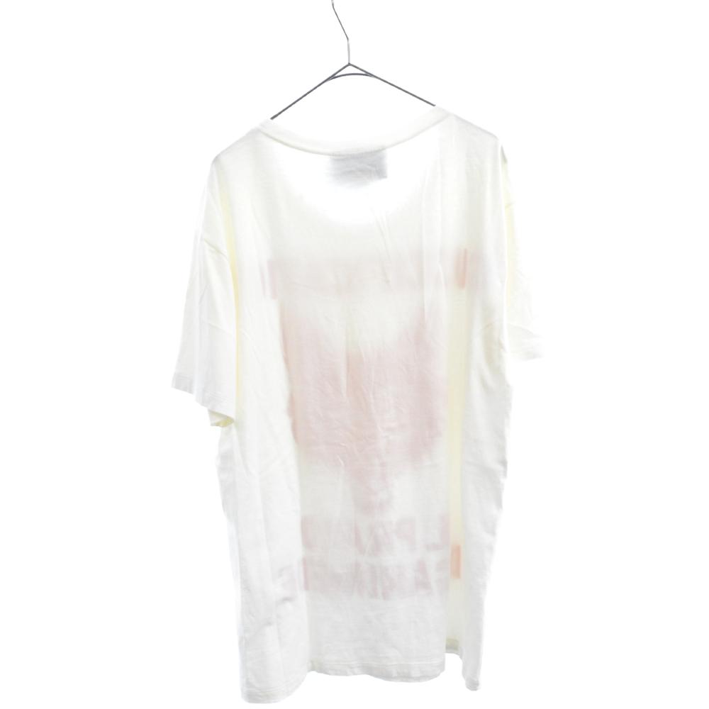 Il Prato di Ganimede Guccification フロントプリントクルーネック 半袖Tシャツ 品質タグ欠損