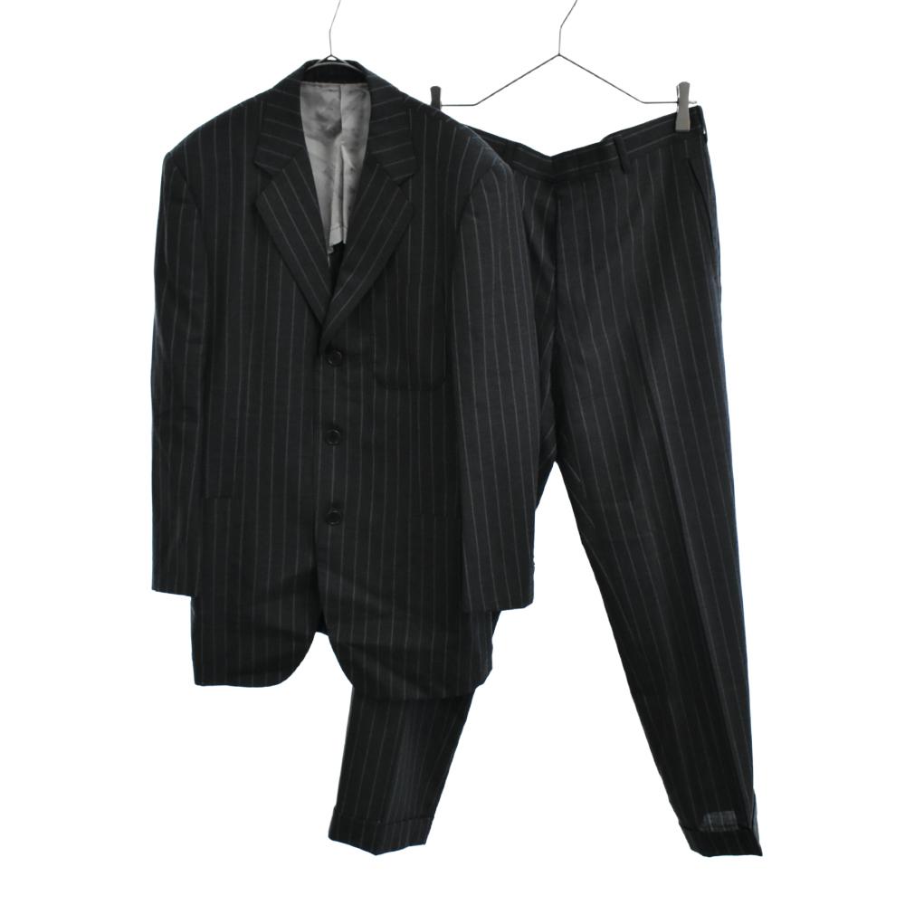 3Bストライプテーラードジャケット パンツ スーツ セットアップ