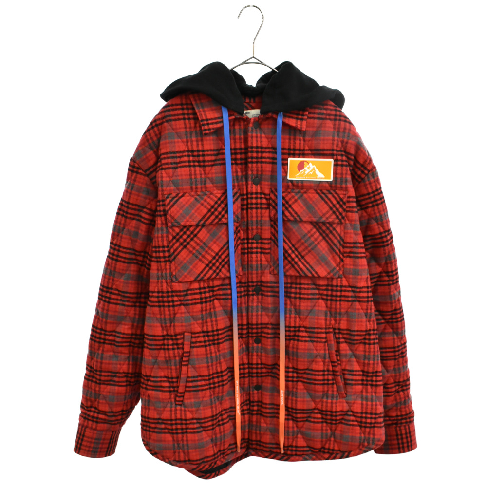 CHECK FLANNEL OVER シャツジャケット