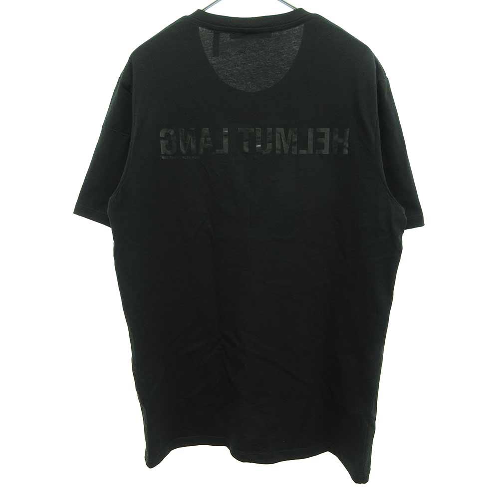 バックロゴプリント クルーネックTシャツ