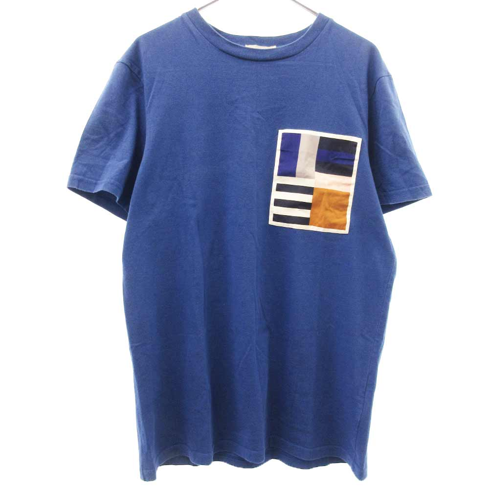 ポケットデザインクルーネック半袖Tシャツ