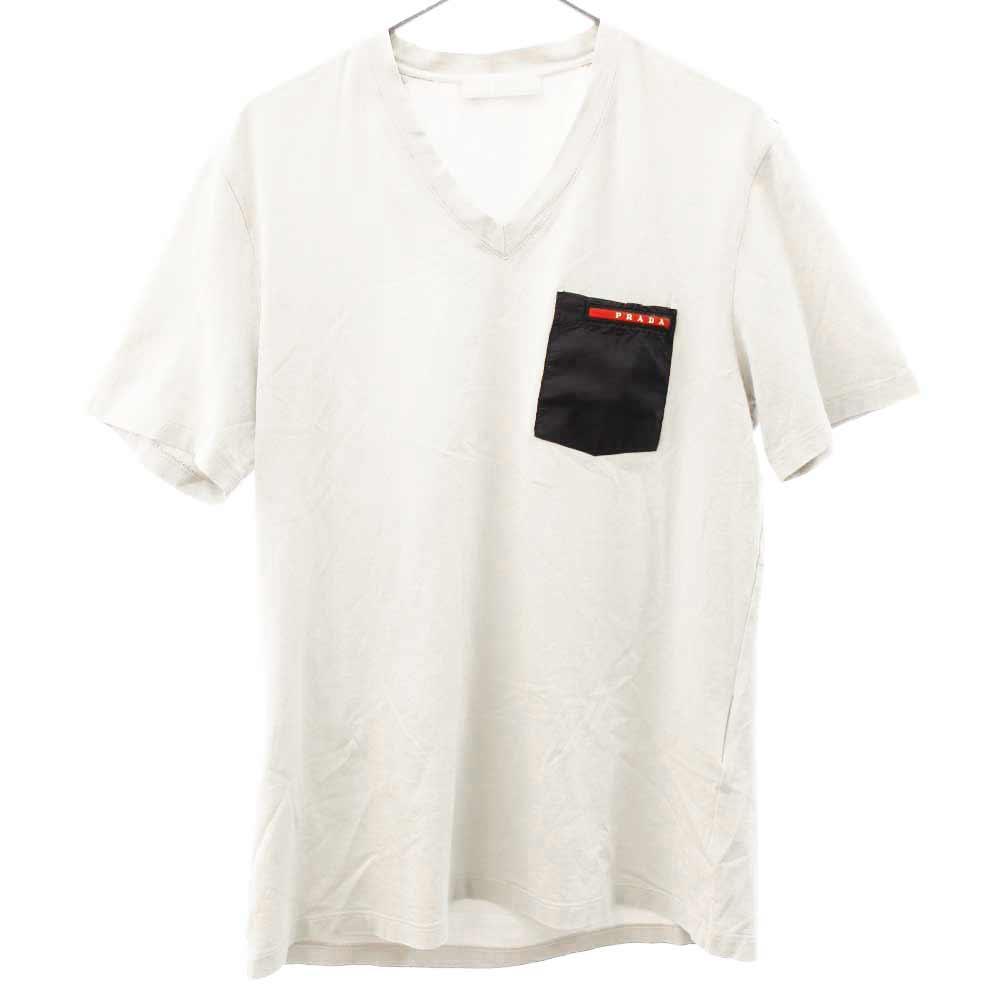 ポケットラバープレート半袖Tシャツ