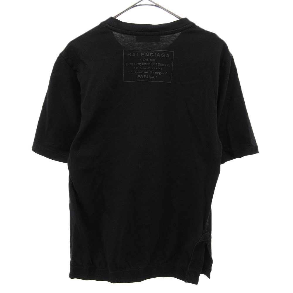 クルーネック バックロゴTシャツ
