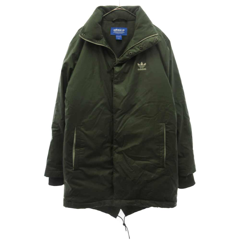 Green Down Fishtail Parka BR1812 ダウン ジャケット