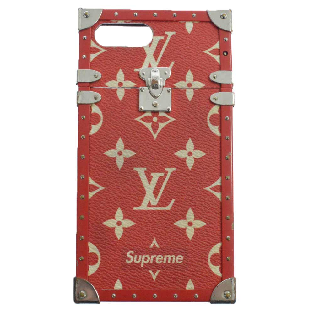 ×LOUIS VUITTON LV Eye-Trunk for iPhone 8 アイトランクアイフォン7ケース ルイヴィトン