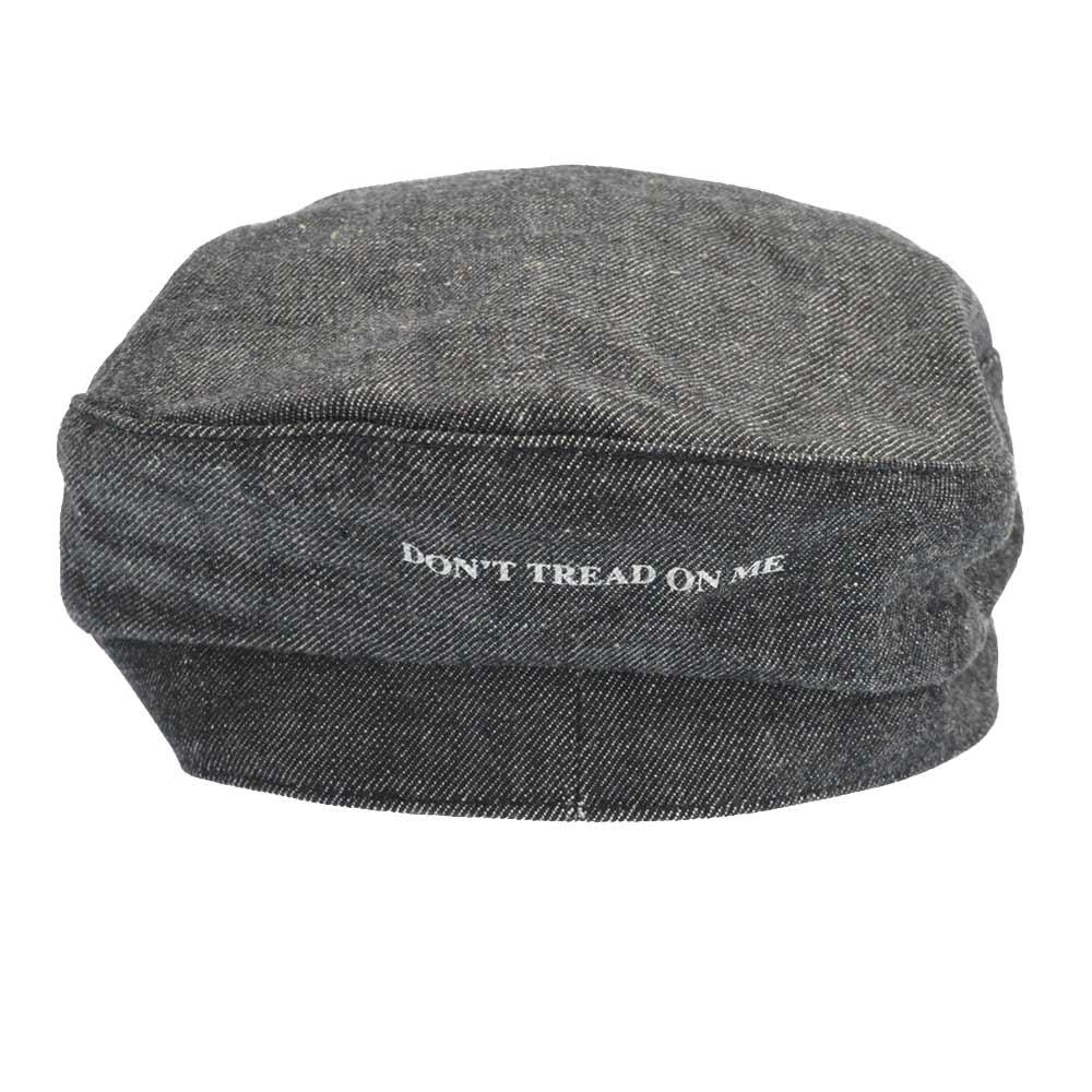 ×CHALLENGER NHCH.PARRY/C-CAP チャレンジャー ロゴプリントデニムセーラーキャップ 帽子