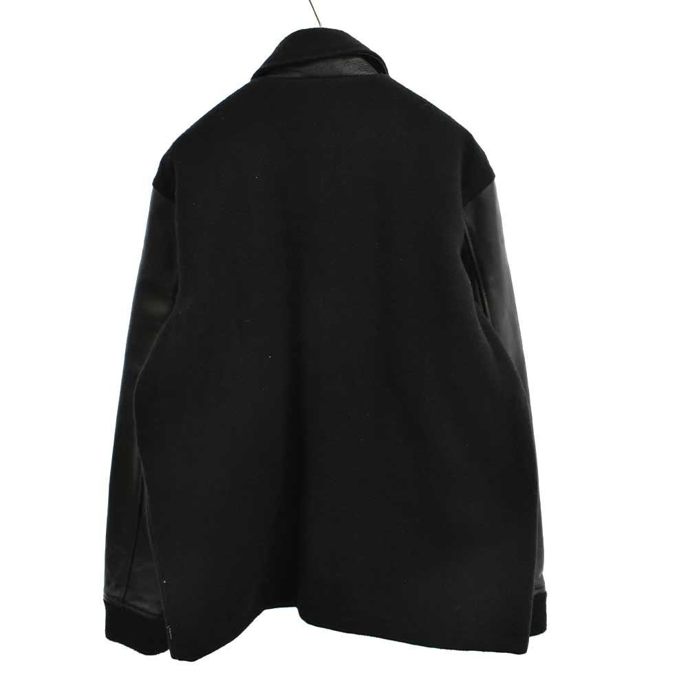 Miners Jacket マイナーズ アームレザー切替ウールジャケット