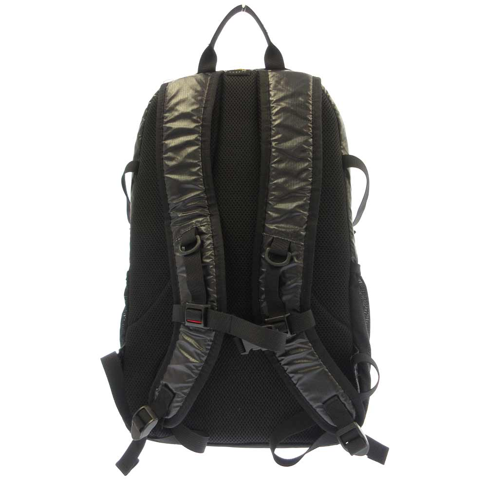 Cordura laminated ripstop nylon Backpack ボックスロゴナイロンバッグパック リュック