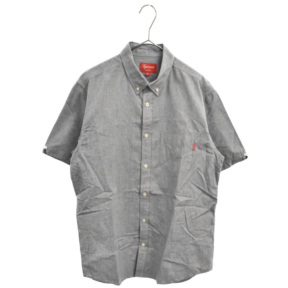 ボタンダウンカラー 半袖シャツ