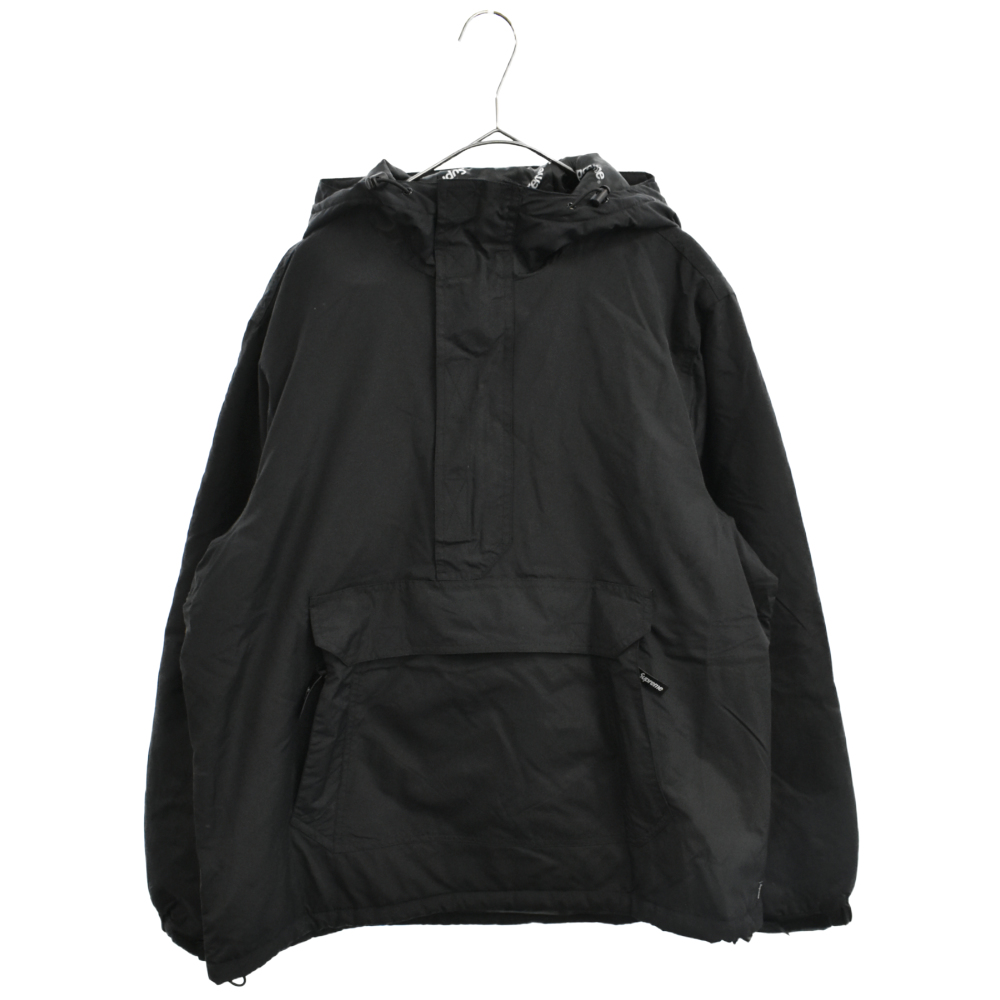 Hooded Logo Half Zip Pullover  フーデッドロゴハーフジッププルオーバー アノラックジャケット