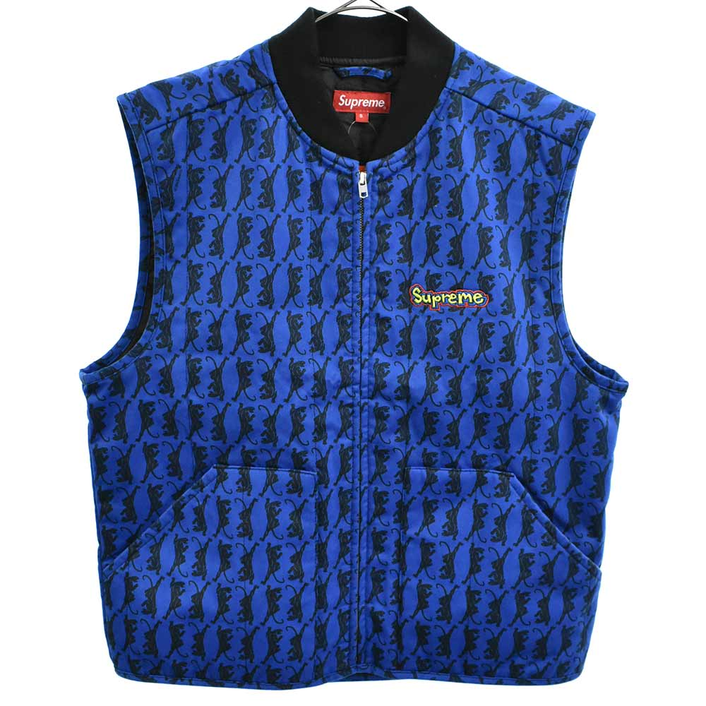 Gonz Shop Vest Panther Print ゴンズショップベスト パンサープリント