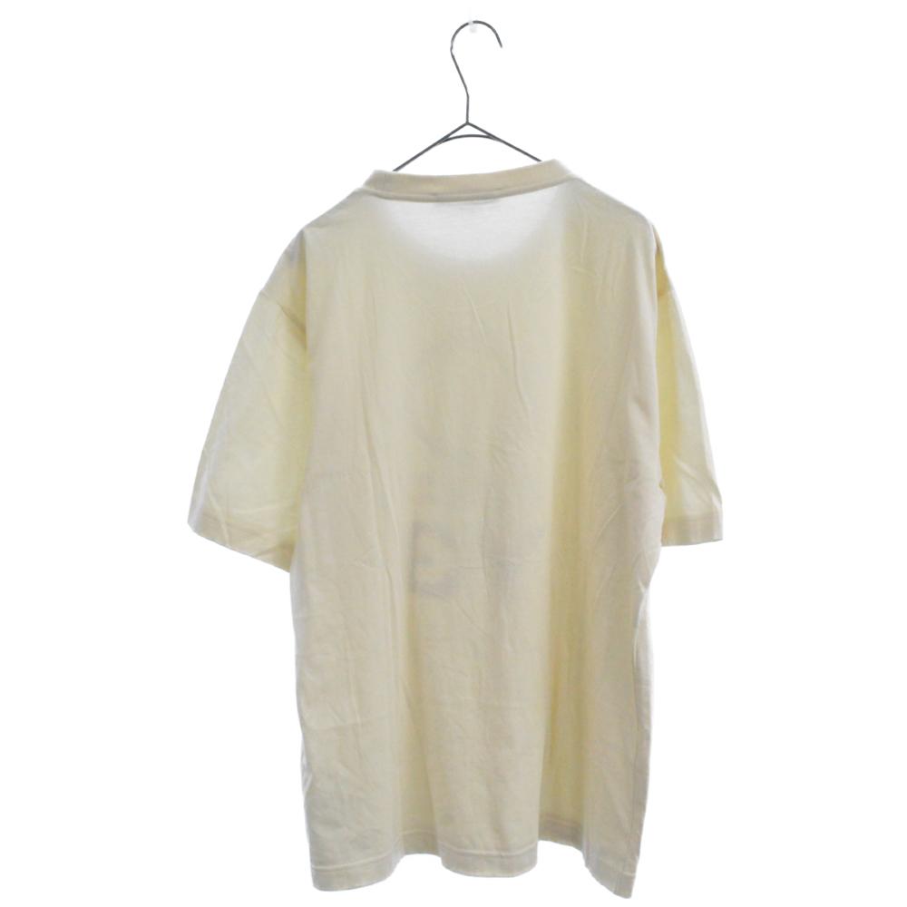 STACKED CHAMPA フロントプリントクルーネック半袖Tシャツ