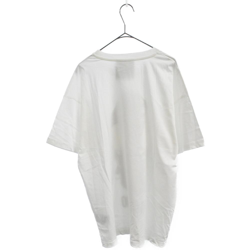 フロントラバープリントクルーネック半袖Tシャツ