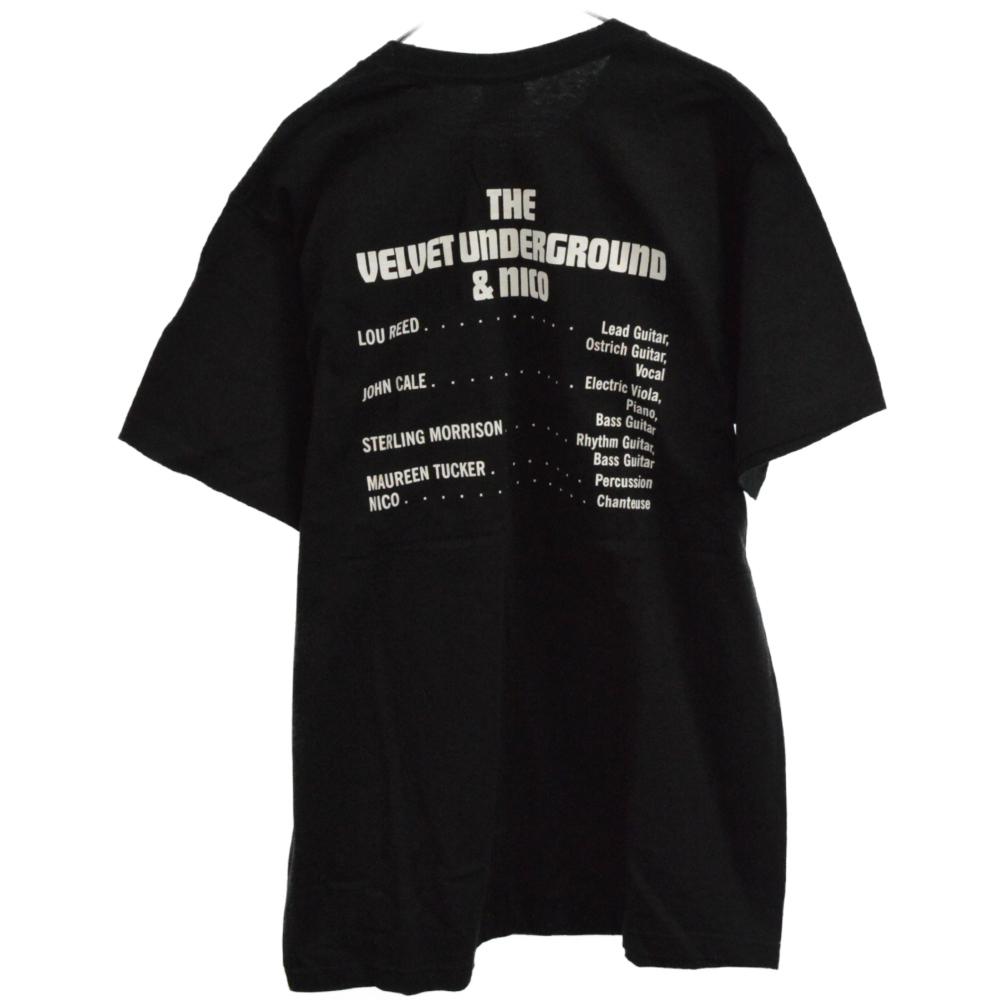 ×The Velvet Underground & Nico Tee フォトプリント半袖Tシャツ ベルベットアンダーグラウンド