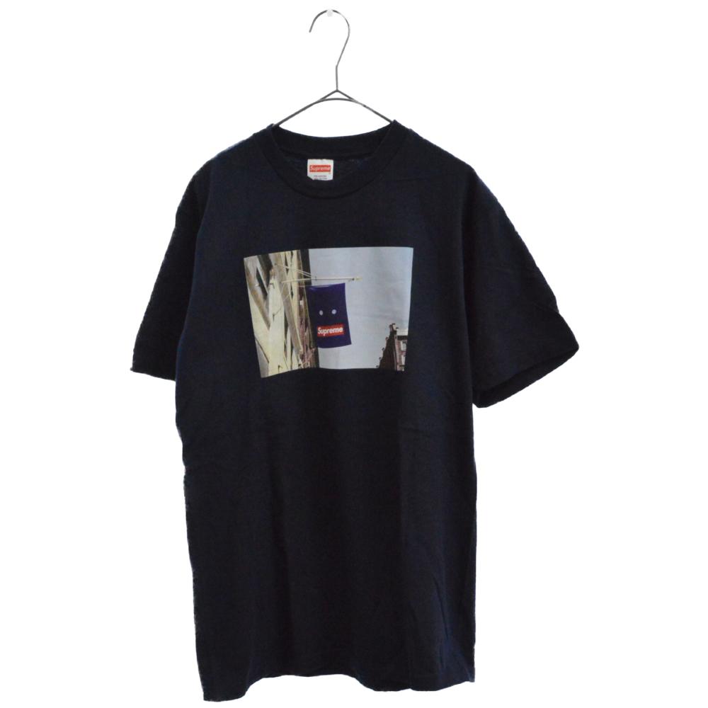 Banner Tee バナーフォトプリント半袖Tシャツ