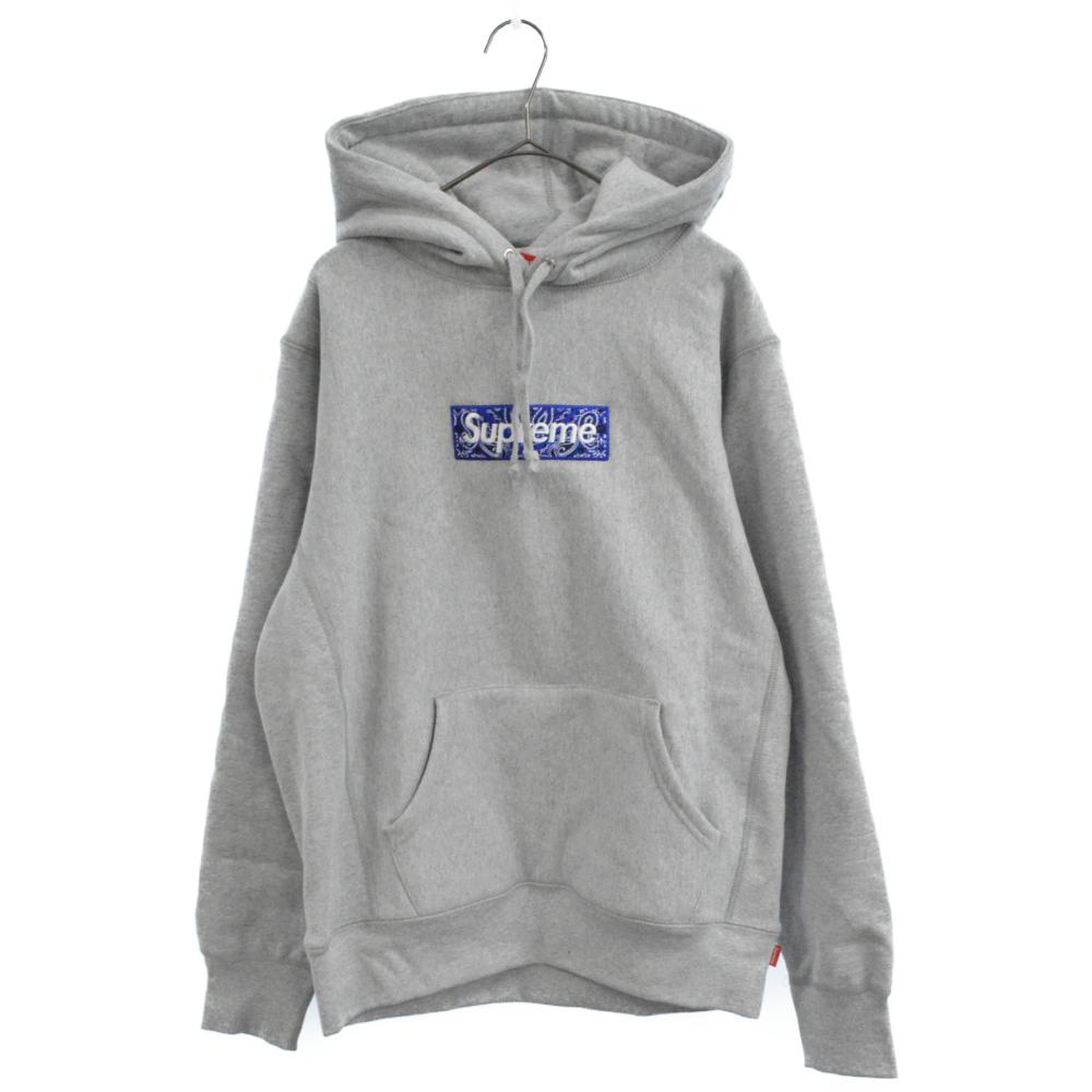Bandana Box Logo Hooded Sweatshirt バンダナボックスロゴパーカー